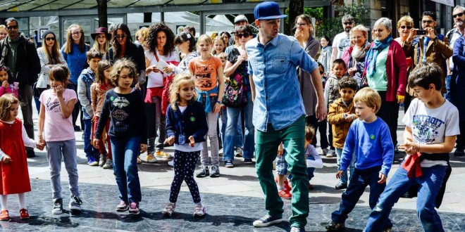 Tanzfest im Keck